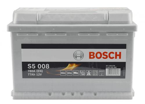 Baterie auto Bosch S5 77Ah 12V 0092S50080