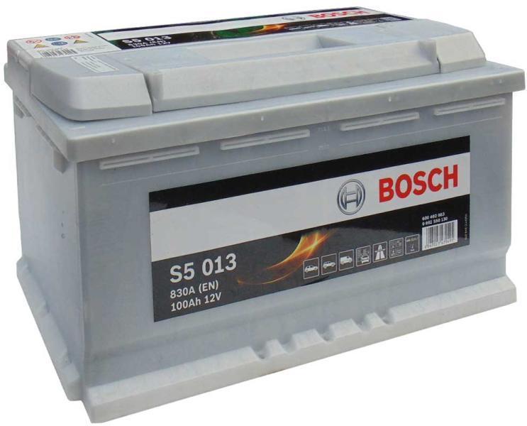 Baterie auto Bosch S5 100Ah 12V 0092S50130