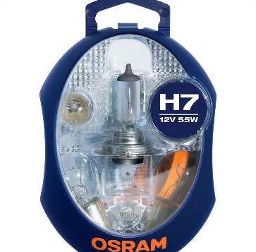 Bec auto halogen pentru far Minibox PX26d H7 55W 12V CLKMH7