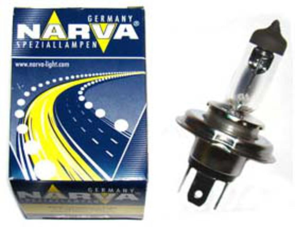 Bec auto halogen pentru far Narva H4 75/70W 24V 48892