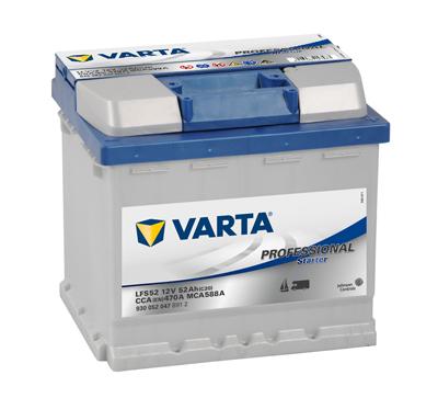 Baterie auto Varta  Professional Starter 52Ah 12V 930052047 B912