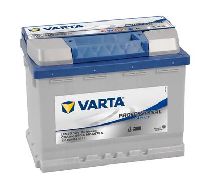 Baterie auto Varta Professional Starter 60Ah 12V 930060054 B912