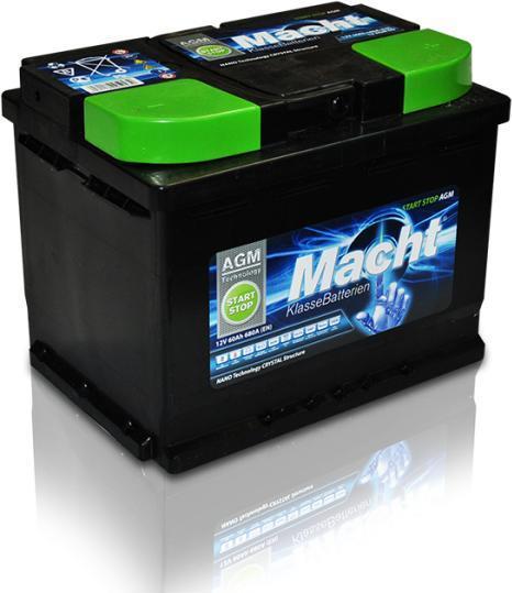 Baterie auto Macht AGM Start-Stop 60Ah 12V 25943