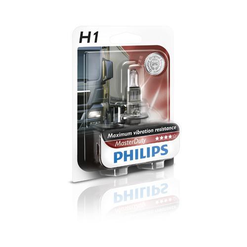 Bec auto halogen pentru far Philips Master Duty H1 70W 24V 13258MDB1