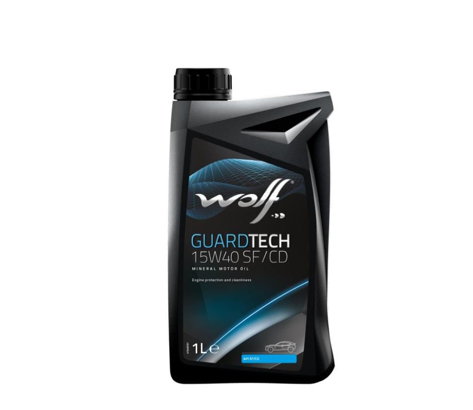 Ulei motor Wolf GuardTech 15W40 SF/CD 1L
