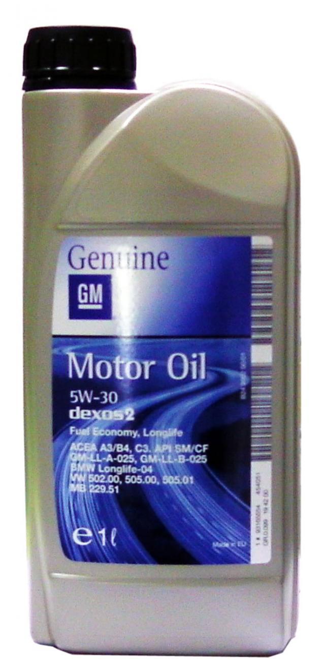 Ulei motor GM Opel Dexos 2 5W30 1L