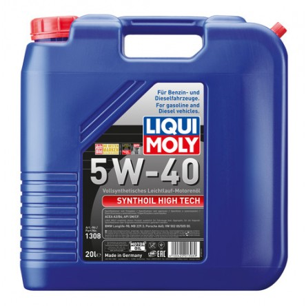 Ulei motor Liqui Moly Synthoil High Tech 5W40 20L