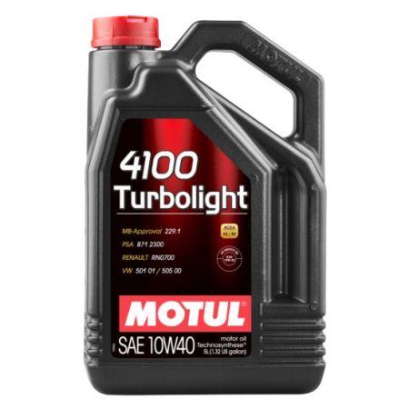 Ulei motor Motul 4100 Turbolight 10W40 5L
