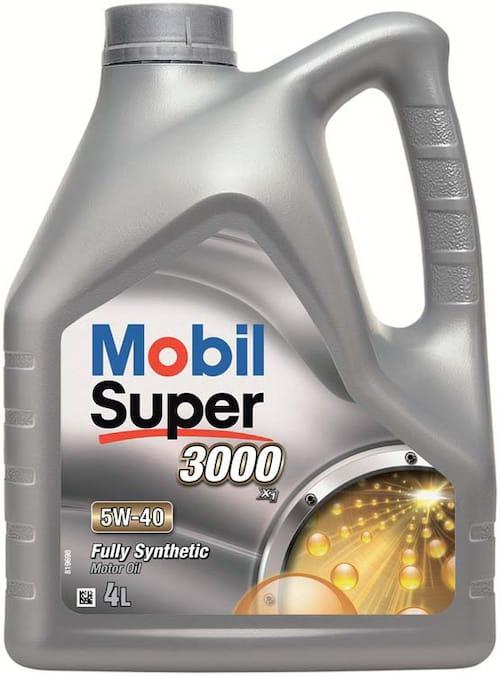 Ulei de motor Mobil Super 3000 X1 5W40 4L