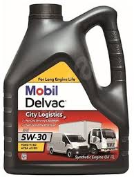 Ulei motor Mobil Delvac City Logistic M 5W30 4L