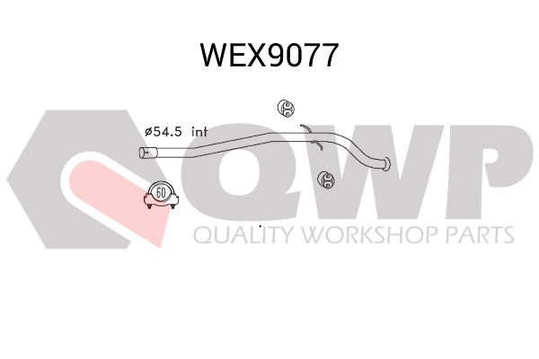 Teava reparatie, catalizator QWP WEX9077
