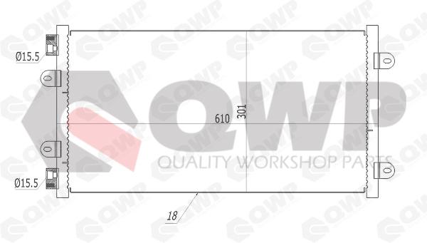 Condensator, climatizare QWP WAC172