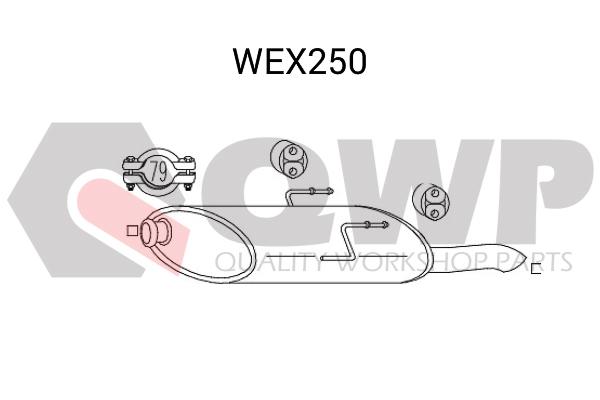 Toba esapament finala QWP WEX250
