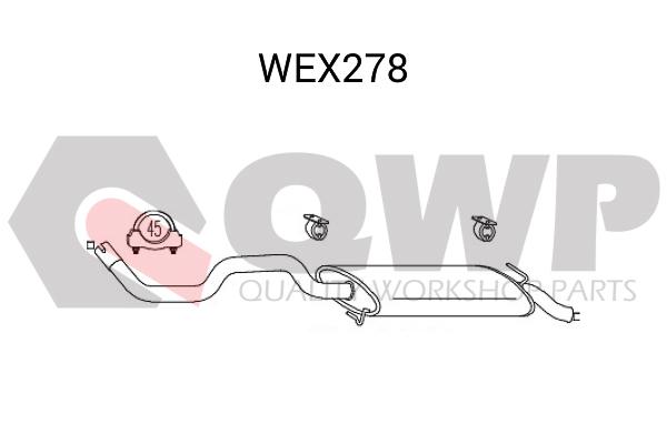 Toba esapament finala QWP WEX278