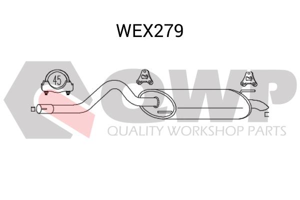 Toba esapament finala QWP WEX279