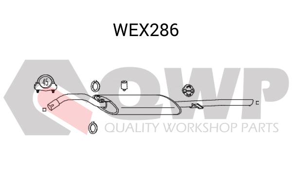 Toba esapament finala QWP WEX286