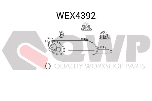 Toba esapament finala QWP WEX4392