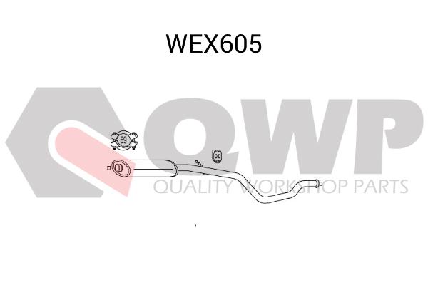 Toba esapamet intermediara QWP WEX605