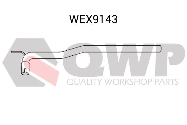 Teava reparatie, catalizator QWP WEX9143