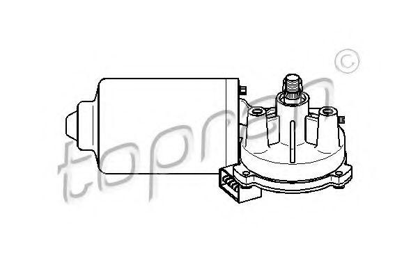 Motor stergator TOPRAN 108 792