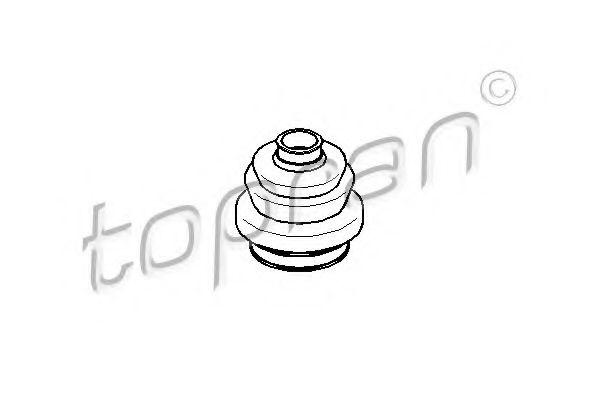 Burduf cauciuc, articulatie planetara TOPRAN 300 829