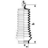 Burduf cauciuc, directie RENAULT Symbol  (LB0/1/2_) 1.6 16V (79KW / 107CP)SPIDAN 83847