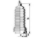 Burduf cauciuc, directie RENAULT Symbol  (LB0/1/2_) 1.6 16V (79KW / 107CP)SPIDAN 83850