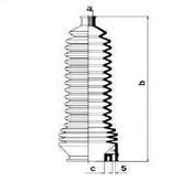 Burduf cauciuc, directie RENAULT Symbol  (LB0/1/2_) 1.6 16V (79KW / 107CP)SPIDAN 83851