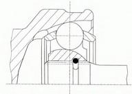 Set articulatie, planetara SPIDAN 21235