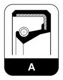 Inel etansare, ax pompa apa ELRING 054.003