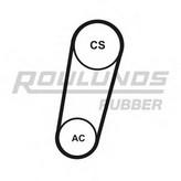 Set curea transmisie cu caneluri ROULUNDS RUBBER 5K0705T1