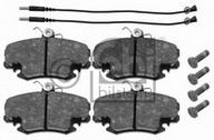 Set placute frana, frana disc DACIA Logan  (LS_) 1.4 (LSOA, LSOC, LSOE, LSOG) (55KW / 75CP)FEBI BILSTEIN 16191
