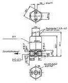 Supapa, sistem de pornire cu flacara BERU MV111