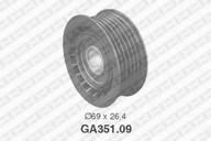 Rola ghidare/conducere, curea transmisie SNR GA351.09