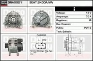 Generator/alternator DELCO REMY DRA0021