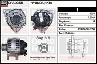 Generator/alternator DELCO REMY DRA0355