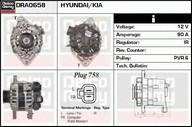 Generator/alternator DELCO REMY DRA0658