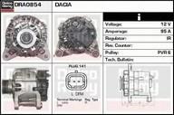 Generator/alternator DACIA Sandero  1.6 MPI 85 (62KW / 84CP)DELCO REMY DRA0854