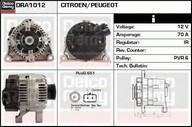 Generator/alternator DELCO REMY DRA1012