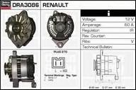 Generator/alternator DELCO REMY DRA3086