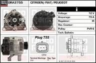Generator/alternator DELCO REMY DRA3755