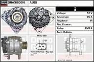 Generator/alternator DELCO REMY DRA3806N