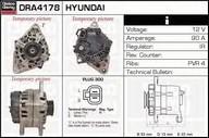 Generator/alternator DELCO REMY DRA4178