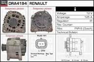 Generator/alternator DELCO REMY DRA4194