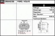 Generator/alternator DELCO REMY DRA4236