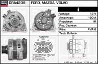 Generator/alternator DELCO REMY DRA4239