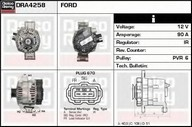 Generator/alternator DELCO REMY DRA4258