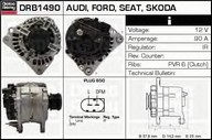 Generator/alternator DELCO REMY DRB1490
