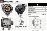 Generator/alternator DELCO REMY DRB2750