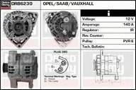 Generator/alternator DELCO REMY DRB6230